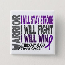 Fibromyalgia Warrior Button