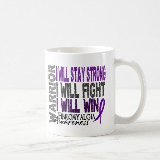 Fibromyalgia Warrior Classic White Coffee Mug