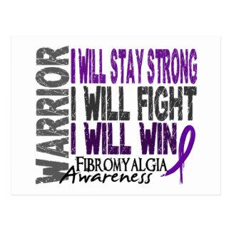 Fibromyalgia Warrior Postcard