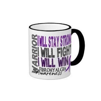 Fibromyalgia Warrior Ringer Mug