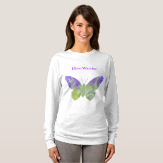 Fibromyalgia Warrior Shirt For Women