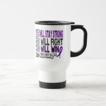 Fibromyalgia Warrior Travel Mug