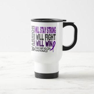 Fibromyalgia Warrior Travel Mug
