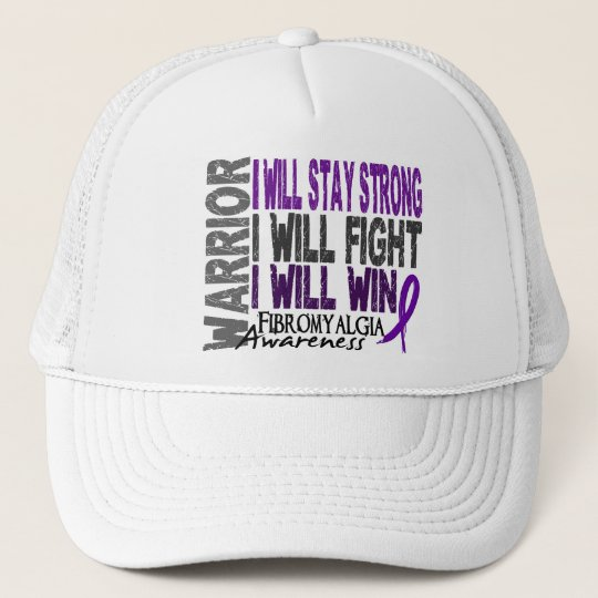 Fibromyalgia Warrior Trucker Hat