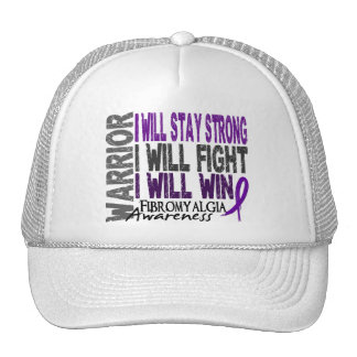 Fibromyalgia Warrior Trucker Hat