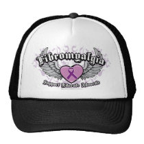 Fibromyalgia Wings Trucker Hat