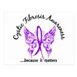 Fibrosis quística de la mariposa 6,1 del tatuaje d tarjeta postal