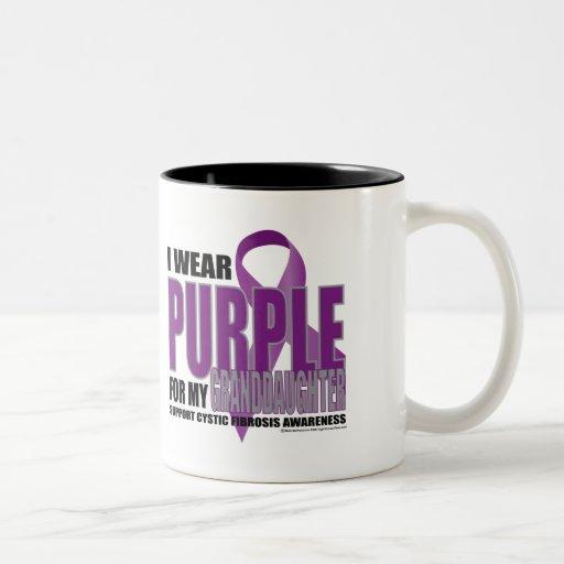 Fibrosis quística: Púrpura para la nieta Taza De Dos Tonos