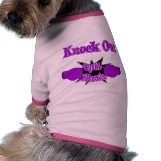 Fibrosis quística camisetas de perrito