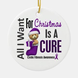 Fibrosis quística toda lo que quiero para los orna ornamento para arbol de navidad