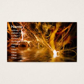 Fibrous Fantasy Business Card Template