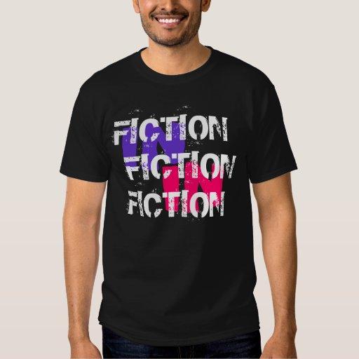 Ficción en la ficción en camiseta de la ficción remera