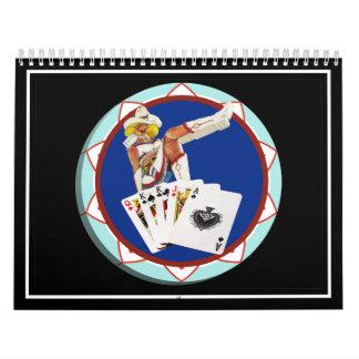 Ficha de póker de Gultch Sally del brillo Calendario