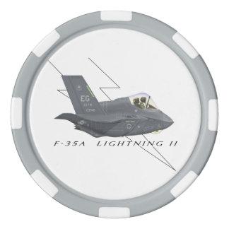 Ficha de póker F-35 Fichas De Póquer