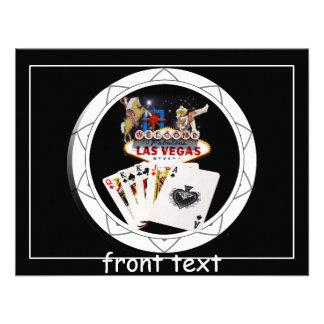 Ficha de póker negra del signo positivo comunicado personal