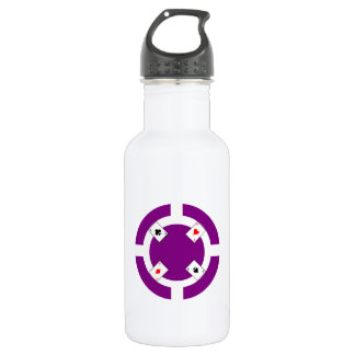 Ficha de póker - púrpura
