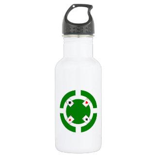 Ficha de póker - verde