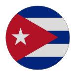 Fichas de póker con la bandera de Cuba Juego De Fichas De Póquer