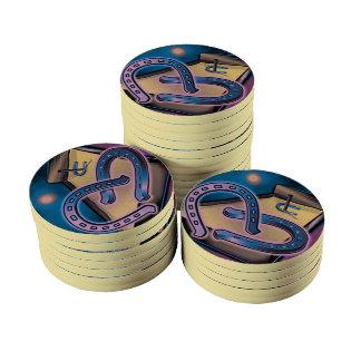 Fichas de póker de cerámica del cabeceo de fichas de póquer