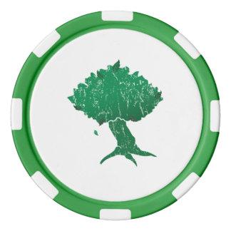 Fichas de póker de la arcilla de DAoC Hibernia, Fichas De Póquer