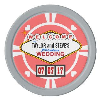 Fichas de póker del casino de Vegas del favor del Fichas De Póquer