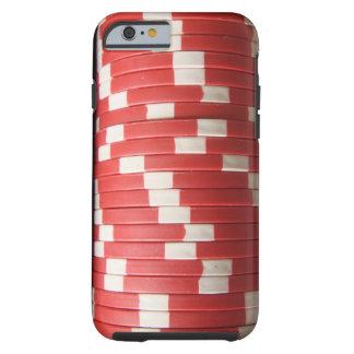 Fichas de póker funda de iPhone 6 tough