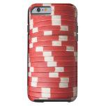 Fichas de póker funda para iPhone 6 tough