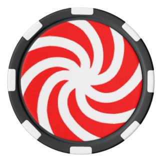Fichas de póker grandes de la arcilla del caramelo juego de fichas de póquer