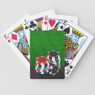 Fichas de póker - naipes