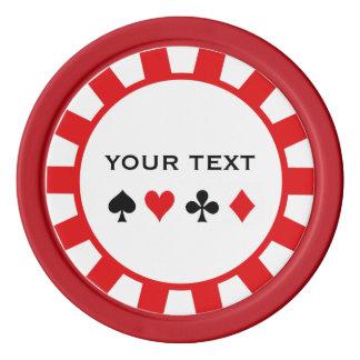 Fichas de póker personalizadas juego de fichas de póquer