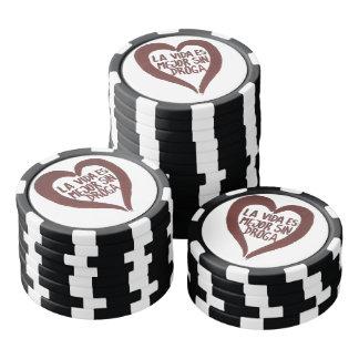 Fichas de póquer Amour#1