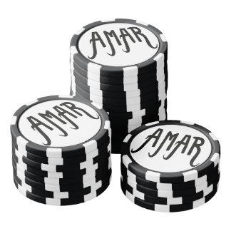 Fichas de póquer Amour#2