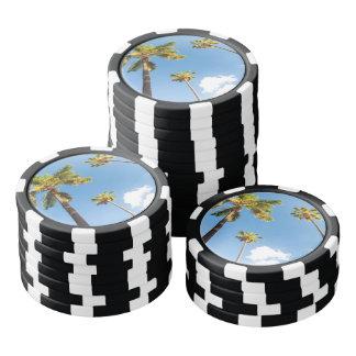 Fichas de póquer Palmeras