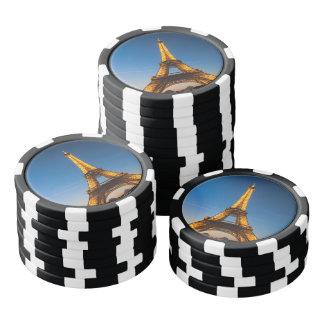 Fichas de póquer París - Torre Eiffel #1