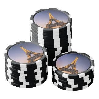 Fichas de póquer París - Torre Eiffel #2