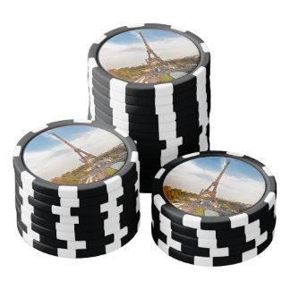 Fichas de póquer París - Torre Eiffel #8