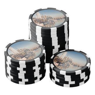 Fichas de póquer Puerto deportivo y de Barcos #1