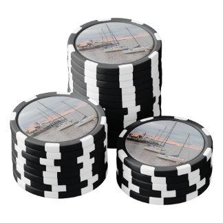 Fichas de póquer Puerto deportivo y de Barcos #2