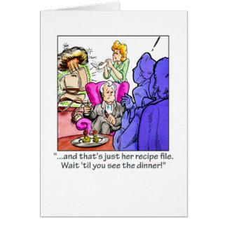 Fichero de la receta tarjeta de felicitación