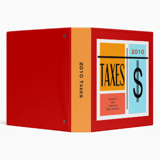 "Fichero de registro de encargo de impuesto de la carpeta 1 1/2"""
