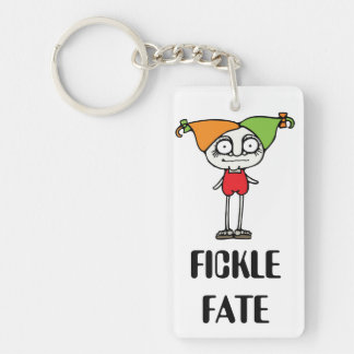 Fickle Fate Keychain
