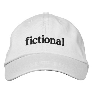 ficticio gorra de beisbol bordada