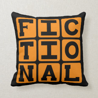 Ficticio, imaginario almohada