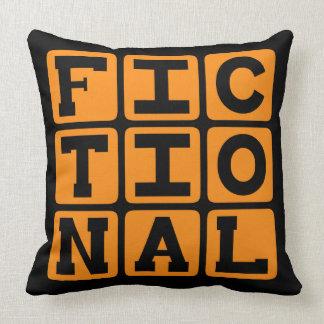 Ficticio, imaginario almohadas