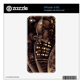 fiction iPhone 4 skin