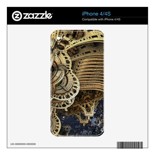 fiction iPhone 4S decal