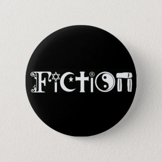 Fiction (Religion) Pinback Button