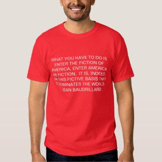 fiction tee shirt