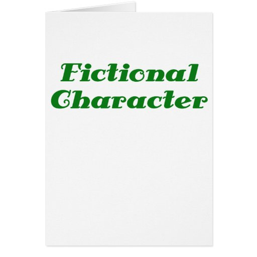 Fictional Character Greeting Cards