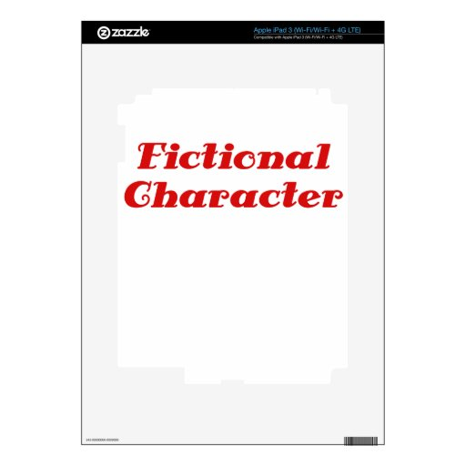 Fictional Character iPad 3 Skins